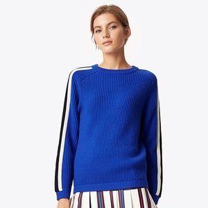 Tory Burch Blue Val Jumper Sweater